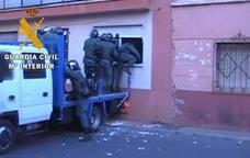 Dos detenidos por tráfico de drogas en una operación en el centro de Roquetas