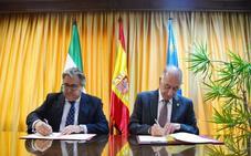 Amat y Zoido firman el protocolo del nuevo cuartel en medio de fuertes críticas por la falta de información