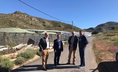 La tormenta de granizo de ayer dañó 15 hectáreas de invernadero de La Mojonera