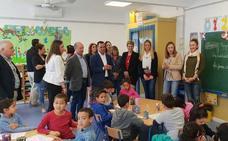 Visita al recientemente reformado colegio San Pedro Apóstol de La Mojonera