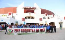La Escuela Municipal de Fútbol crea un equipo senior: la Agrupación Deportiva Ciudad de Roquetas