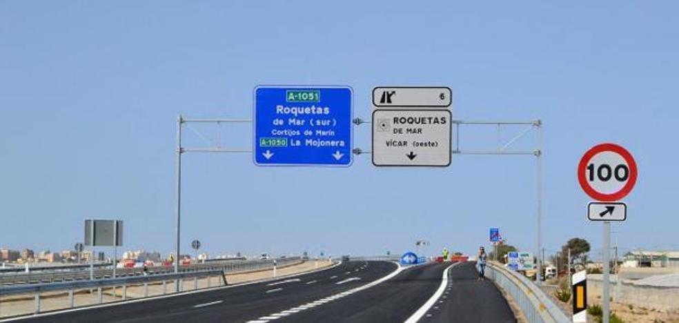 La Junta proyecta prolongar la variante de Roquetas hasta Los Llanos y La Mojonera