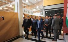 Inauguración del hipermercado Carrefour de Roquetas
