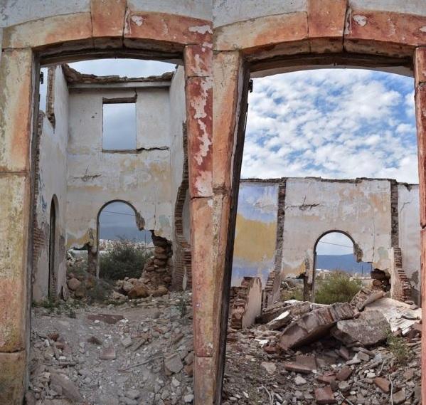 Denuncian el grave deterioro de las casas históricas de Los Parrales
