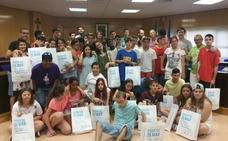 Visita de medio centenar de niños con discapacidad del colegio Jesús del Remedio