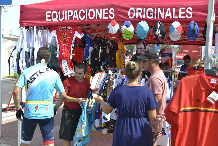 Así fue el paso de la Vuelta a España por Roquetas