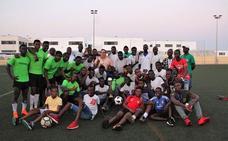 La Copa de Jóvenes Africanos de Almería se disputó en Las Salinas