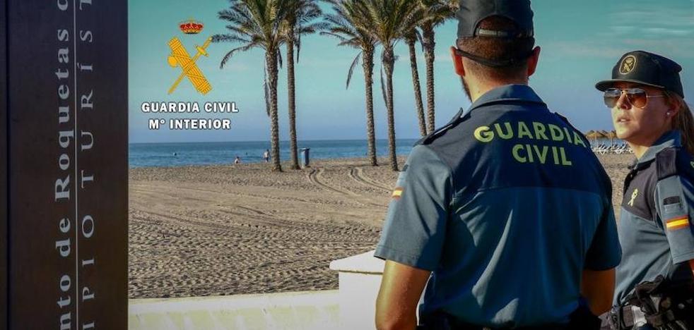 La Guardia Civil detiene al autor de varios robos y lesiones graves con arma blanca en Roquetas de Mar