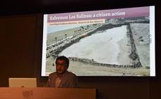 La amenaza urbanística sobre Las Salinas llega a un congreso internacional celebrado en Vitoria