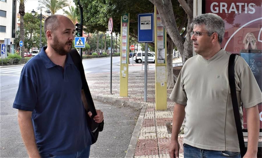 IU pide conexiones directas entre Roquetas y Vícar
