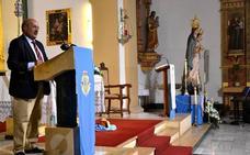 Rafael Ortega ensalzó la iniciativa popular que levantó la iglesia del Rosario