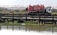 Indignación por el enésimo vertido de aguas fecales en la Ribera de la Algaida