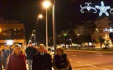 La avenida Reino de España por fin tiene iluminación en las aceras