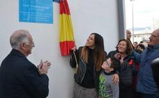 Carmen Martín inauguró las pistas deportivas de Cortijos de Marín que llevan su nombre