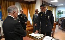 Antonio Villanueva toma posesión como inspector de la Policía Local de Roquetas
