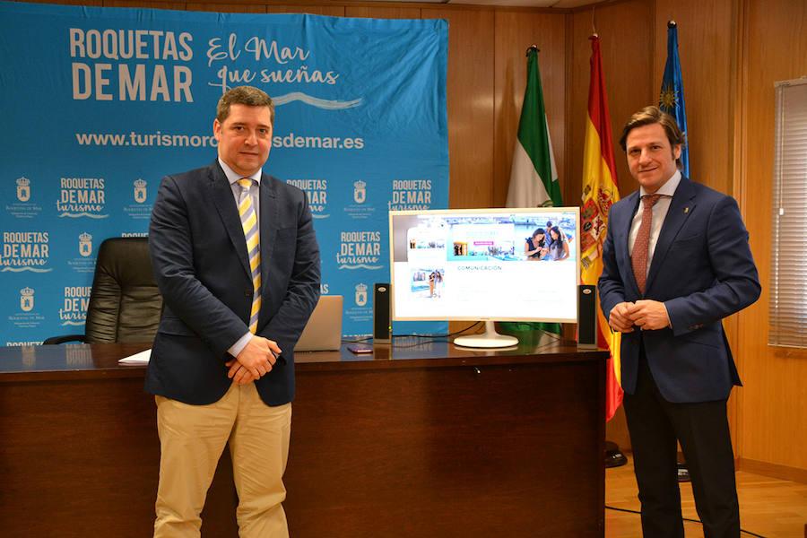 Roquetas se vuelca en la caza del turista digital