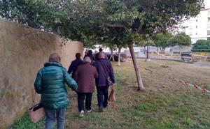 Las obras de la red de pluviales de Playa Serena no estarán listas para Semana Santa