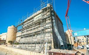 El baluarte del Castillo de Santa Ana recuperará su aspecto original tras una rehabilitación de 5 meses