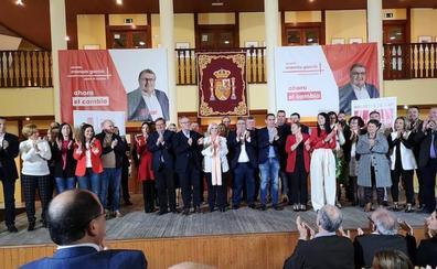 Un PSOE más unido que nunca presentó su candidatura para hacer el «gran cambio» en Roquetas