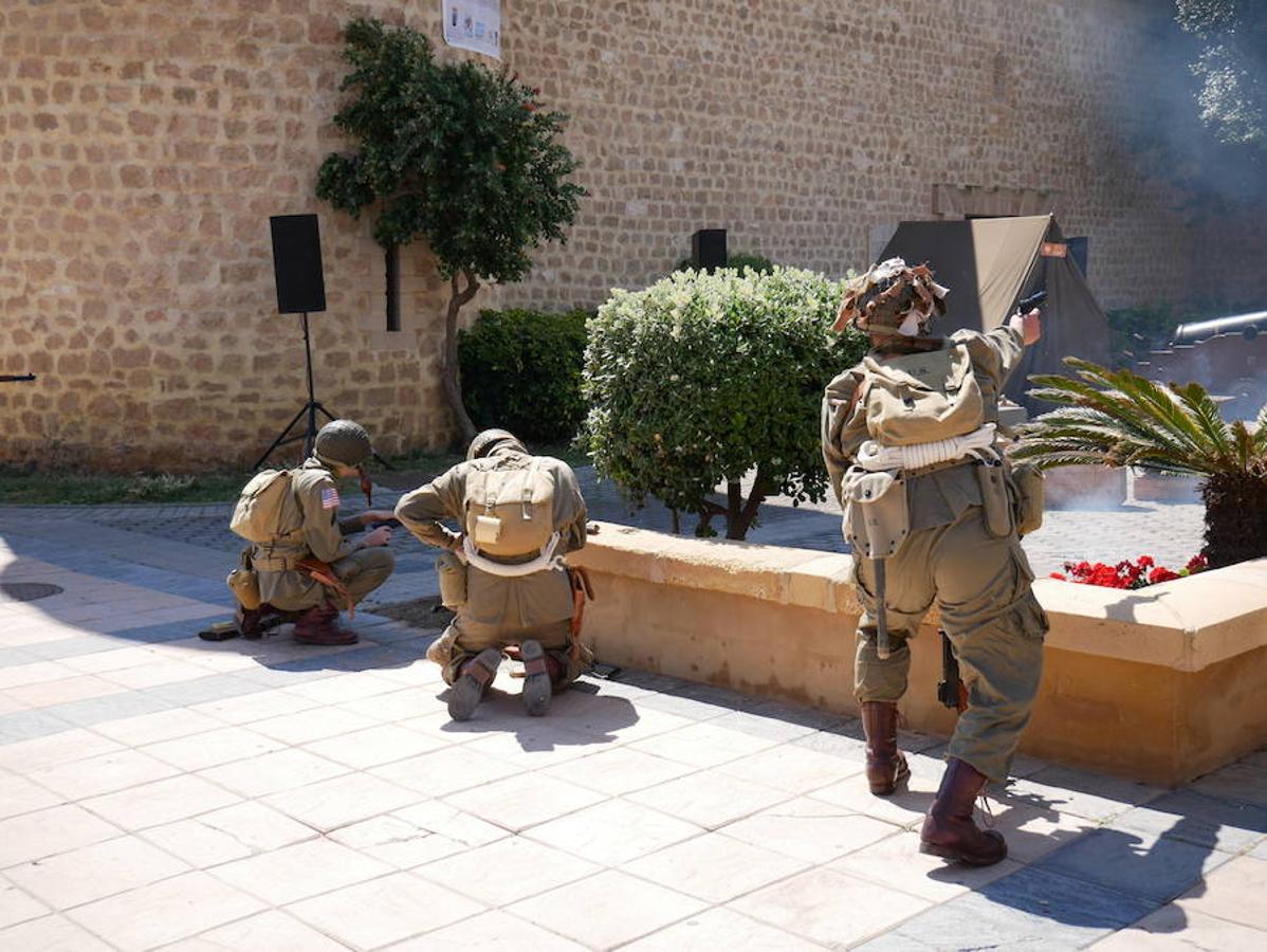 Desembarco de Normandía en el Castillo de Santa Ana de Roquetas