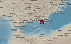 Un terremoto de 3,2 con epicentro en La Mojonera se siente en Roquetas
