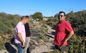 Cs denuncia el abandono de Cortijos de Marín y promete atender sus necesidades