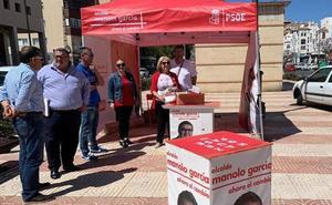 El PSOE promete acabar con «décadas de abandono y agravios de Amat hacia Aguadulce»