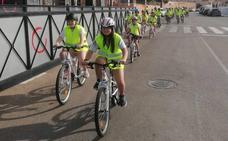 Una ruta cicloturista y entrega de premios, cerró el curso de Educación Vial en el colegio Portocarrero