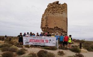 Ruta reivindicativa para pedir la restauración de la Torre de Cerrillos