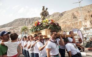 Aguadulce vive desde hoy sus fiestas en honor a la Virgen del Carmen