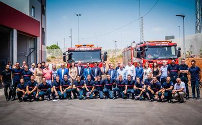 Roquetas estrena parque de bomberos