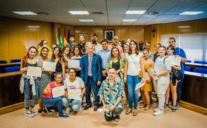 Entregados los diplomas a los 123 alumnos de los programas de formación municipales