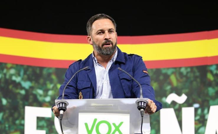 El mitin de Santiago Abascal en Aguadulce, foto a foto