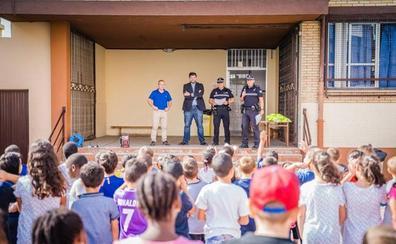 Clausurado un nuevo curso de Educación Vial en el colegio Virgen del Rosario