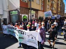 Manifestación por el Cañarete