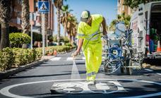 Finalizan las obras de reasfaltado de la avenida de La Fabriquilla de El Parador
