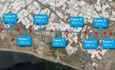 Arrancan las obras de asfaltado de la carretera de Alicún