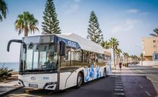 Roquetas quiere buses eléctricos para el futuro servicio de transporte público urbano