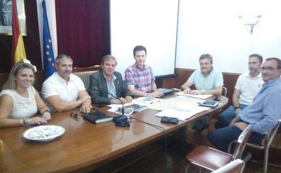 Primeros pasos para la construcción de la estación depuradora de Campillo de Arenas y Noalejo