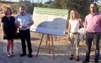 Más de 650.000 euros para adecuar la carretera que une Úbeda y Santa Eulalia