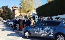 Los Cerros promovió una caravana de coches eléctricos e híbridos entre Úbeda y Granada