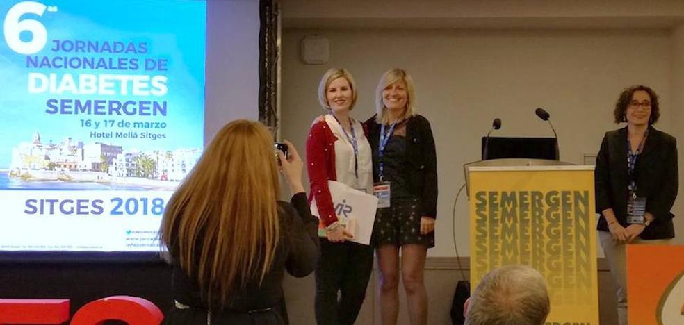 Profesionales del centro de salud de Úbeda, premiadas en las Jornadas Nacionales de Diabetes