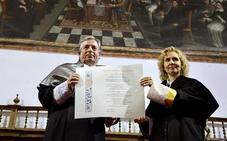 El ubetense Juan José Almagro, doctor 'honoris causa' de la Universidad Pontificia de Salamanca