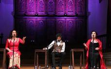 Tres voces para una misma forma de engrandecer el flamenco