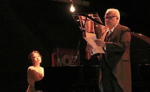 Juan Echanove y Azumi Nishizawa evocaron a Federico García Lorca