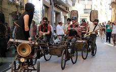 Música sobre ruedas en la recta final del festival