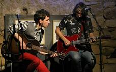 Santy Pérez presentó sus nuevas canciones en San Lorenzo