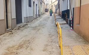 Comienzan las obras en la calle Zaus previas a las previstas en la calle Arjona