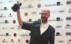 Luis Miguel Cobo recibió el Premio Max a la mejor composición musical para espectáculo escénico