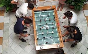 Campeonato de futbolín benéfico de los jóvenes de Jesús Nazareno